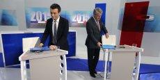 Florian Philippot (FN) et Philippe Richert (Les Républicains) ne seraient qu'à deux points d'écart lors du second tour des élections régionales dimanche prochain, selon un sondage Elabe.