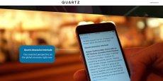Le site d'information en ligne Quartz, créé en 2012, est en pleine expansion depuis trois ans, notamment sur les mobiles.