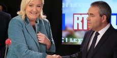 Au soir du premier tour, le FN était en tête dans six régions et notamment dans le Nord-Pas-de-Calais-Picardie, où Marine Le Pen affrontera au deuxième tour le candidat Les Républicains Xavier Bertrand, soutenu par le retrait du candidat PS.