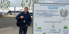 Bjorn Lomborg devant l'Arbre à vent: il faudra 89 années pour compenser le coût de l'investissement