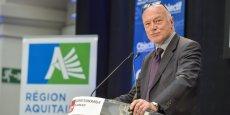 Alain Rousset serait élu à la tête de la grande région avec 44,1 % des voix selon les premières estimations.