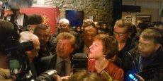 Carole Delga à la Gazette Café de Montpellier, dimanche 13 décembre 2015