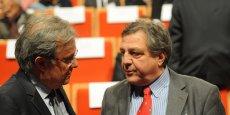 François Turcas (à droite), aux côtés d'Emmanuel Imberton, président de la CCI métropolitaine.