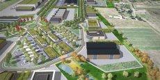 Le technopole occupera 220 hectares (dont 146 cessibles) à l'horizon 2035.