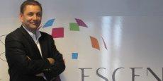 Eric Combalbert, président fondateur de l'Ecole supérieure de commerce et d'économie numérique