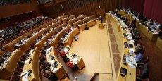 Faute de place, les élus de la Région Occitanie ne peuvent siéger dans les anciens amphithéâtres.