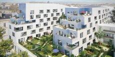 Situé sur le site de l'ancienne école Santé navale de Bordeaux, le programme Urban Art, réalisé par le groupe Pichet, s'inscrit dans le cadre du projet urbain Re-Centres.