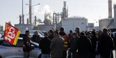Parmi les grèves marquantes de l'année 2013, celle survenue dans les raffineries de Total.
