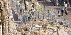Le système de détection et prévention des attaques suicides par ceinture explosive ressemble à une unité radar mobile servant à détecter des avions ou des missiles sur un théâtre d'opérations.