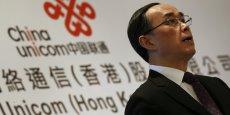 Chang Xiaobing a dirigé China Unicom avant de prendre la tête de China Telecom en 2015.