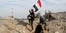 Ramadi la deuxième grande ville regagnée par l'armée régulière après Tikrit, au nord de Bagdad, repassée aux mains du gouvernement en avril.
