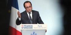 François Hollande (ici devant le congrès le 16 novembre) veut faire du maintien de la déchéance de la nationalité un instrument de reconquête de l'opinion, quitte à faire grincer des dents à gauche.