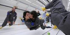 Le septième ciel, oui, mais sans pesanteur, c'est ce que propose Novespace et Avico aux amoureux le 14 février.