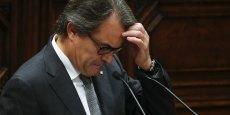 Artur Mas ne sera pas investi président de la Catalogne. Il peut provoquer désormais de nouvelles élections.