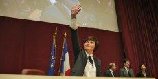 Carole Delga, élue aujourd'hui présidente de la nouvelle région