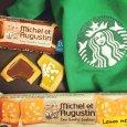 Le coup de communication de Michel et Augustin a payé: ses biscuits sont désormais référencés dans plus de 7000 Starbucks américains.