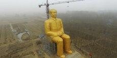 Cette statue équivaut à un immeuble de 12 étages.