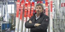 Le patron de Rossignol espère atteindre un chiffre d'affaires de 270 millions d'euros d'ici trois ans.
