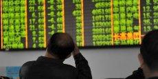 Au final, la séance en Chine aura à peine duré une demi-heure, les « coupe-circuits », ayant interrompu la chute des indices.