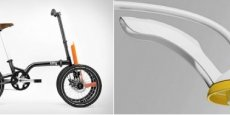 Le mini tricycle de 360 & Easy Design Technologie et la douche BP Design & SARL Écolabel.