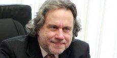 Georgios Katrougalos, ministre grec du travail, de la sécurité sociale et de la solidarité nationale.