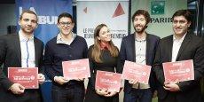Les cinq gagnants du Sud-Est du Prix La Tribune Jeune Entrepreneur vont se retrouver à Paris le 9 mars pour la grande finale;