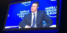 Manuel Valls au Forum de Davos 2016.