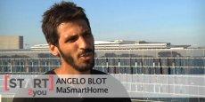 Angelo Blot, fondateur de MaSamrtHome à Montpellier