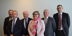 Stéphanie Paix, présidente du directoire de la Caisse d'épargne Rhône-Alpes, a présenté les projets de la banque pour 2016.