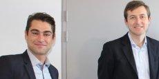 Loïc Chazalet et Pierre-Alexandre Cichostepski, fondateurs d'Éléments à Montpellier