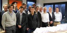 Oceanet Technology entend aujourd'hui croître en Grande-Bretagne et aux Etats-Unis. (Photo: signature de l'accord entre Oceanet Technolgy et NBS System)