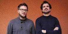 Stéphane Jean et Nicolas Delaunay, les deux porteurs de projet d'Amassa