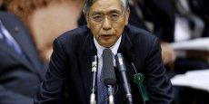 Le gouverneur de la banque du Japon, Haruhiko Kuroda, n'a pas modifié réellement sa politique.