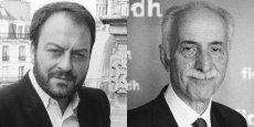 Pierre-Samuel Guedj et Karim Lahidji