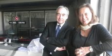 Jean-Marc Offner et Véronique Ferreira