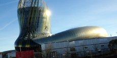La Cité du vin, à Bordeaux, mobilise plusieurs financeurs dont Bordeaux Métropole.