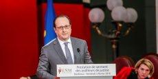 François Hollande heureux de voir cette importante promotion de 366 auditeurs de justice