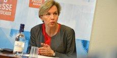 Virginie Calmels a été désignée hier par Alain Juppé devant ses adjoints à la mairie de Bordeaux comme son successeur.