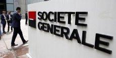 La banque française n'a pas atteint son objectif de croissance de son chiffre d'affaires.
