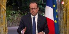 François Hollande jure qu'il fera de la baisse du chômage le critère de sa candidature pour 2017.