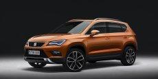 L'Ateca sera le premier SUV de l'histoire de Seat. La marque espagnole a promis un second SUV de segment B pour l'année prochaine.