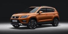 L'Ateca doit sortir Seat des voitures compactes pour le faire entrer dans l'univers des SUV.