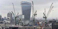 Les prix de l'immobilier ont bondi de plus de 76% dans le Grand Londres depuis 2009. (Photo: vue de la City et de ses nombreux chantiers immobiliers, le 13 février 2016)