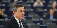Mario Draghi veut relancer l'inflation dans la zone euro.