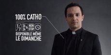 La publicité du Diocèse de Normandie.