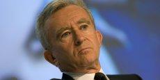 Bernard Arnault, patron de LVMH veut s'offrr le Journal des Finances Copyright Reuters