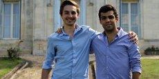 Antoine Sottas et Quentin Vallet, fondateurs de la marque Le Diplomate