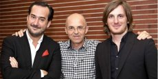 Les dirigeants de Teads jusqu'en 2016 : B. Quesada, P. Chappaz, et L. Soubeyrand