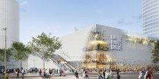Le nouveau centre commercial se veut épuré et plus transparent.