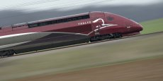 Ces trains low-cost seront équipés de rames de couleur verte et violette et non des traditionnelles rames de couleur bordeaux.